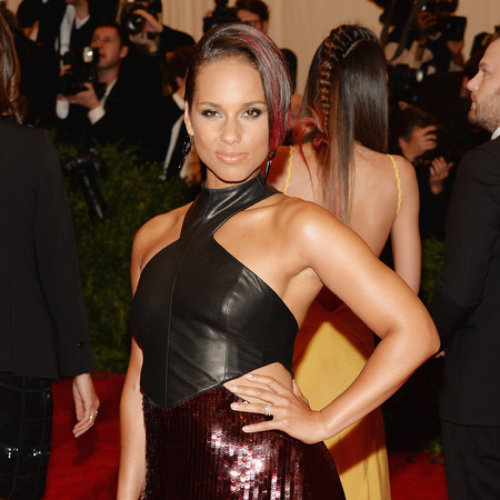 Alicia Keys at 2013 met ball