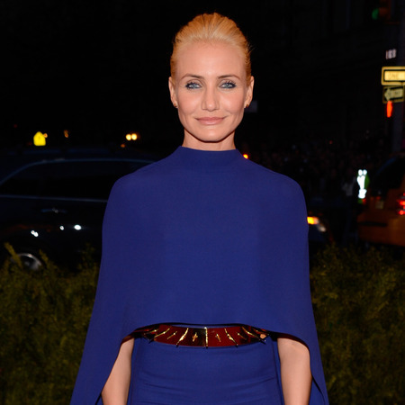 Cameron Diaz at 2013 met ball,