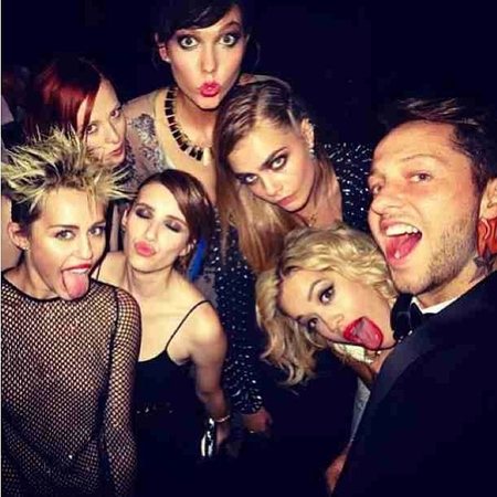 Celebrities party at the Met Ball 2013