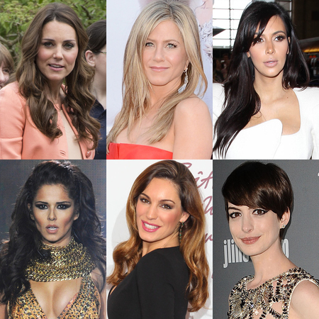 Most requested celebrity hairstyles 2013