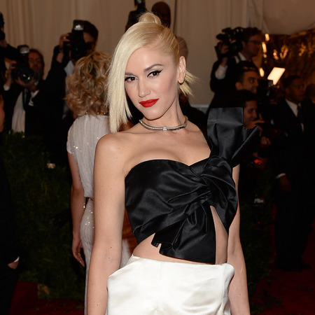 Gwen Stefani at 2013 met ball - Gwen stefani red carpet looks - Gwen Stefani fashion - celebrity fashion - handbag.com