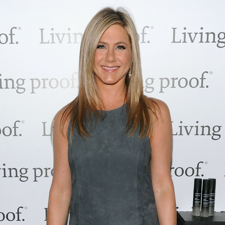 Jennifer Aniston attend launch of Living Proof Good Hair Day Web Series