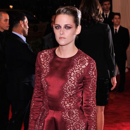 Kristen Stewart wears Stella McCartney at 2013 met ball