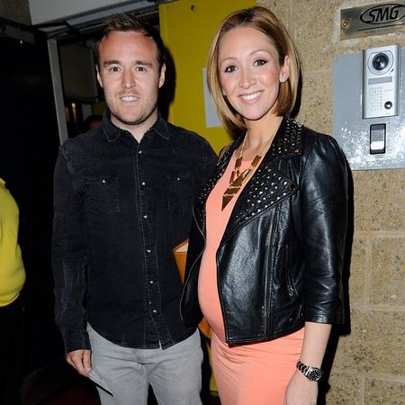 Pregnant Lucy Jo Hudson wears orange to Beyonce gig