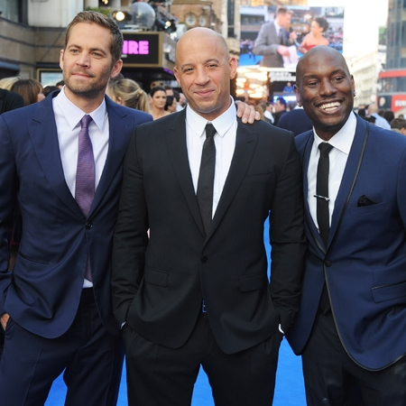 Paul Walker, Vin Diesel and Tyrese Gibson at Fast 6 premiere