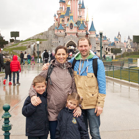 Galina visits Disneyland, Paris