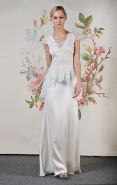 Claire Pettibone Spring 2014 Wedding Dresses