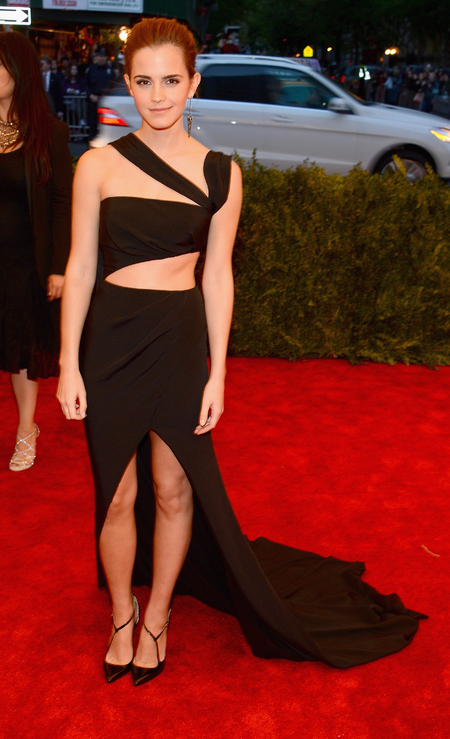 Emma Watson in Prabal Gurung at Met Ball 2013
