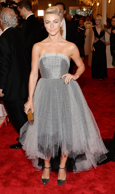 Julianne Hough in Topshop at Met Ball 2013