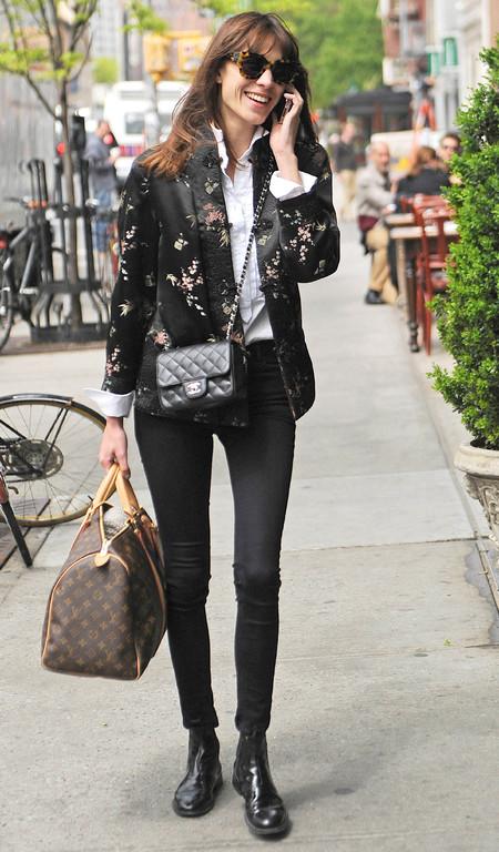 Alex Chung with Chanel and Louis Vuitton bags - personalised Louis Vuitton luggage - Louis vuitton bags - celebrity bag style - fashion news - handbag.com