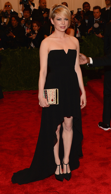 Michelle Williams in Saint Laurent dress to Met Ball 2013