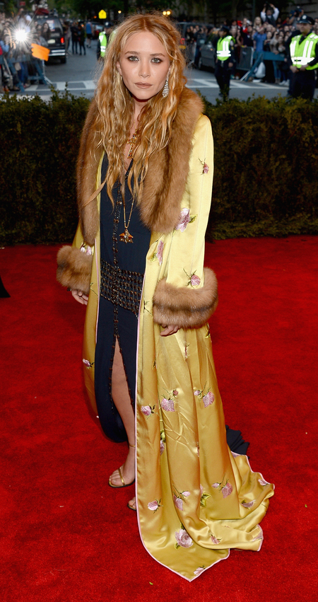 Mary-Kate Olsen in vintage Chanel dress at Met Ball 2013