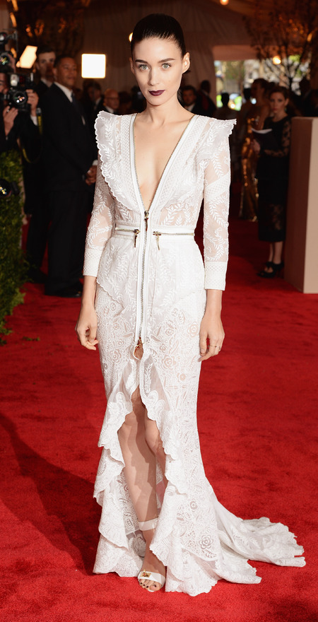Rooney Mara wears Givenchy to Met Ball 2013