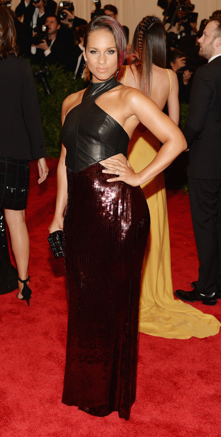 Alicia Key wears Jason Wu to the Met Ball 2013