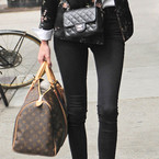 CELEB BAGS: Alexa Chung's Chanel & Louis Vuitton