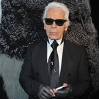 Karl Lagerfeld collaborating with Louis Vuitton