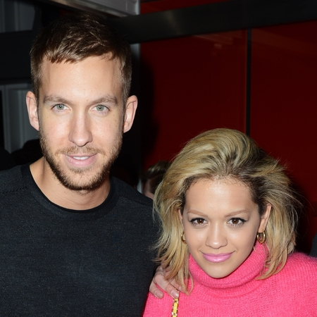 Calvin Harris and Rita Ora London date night