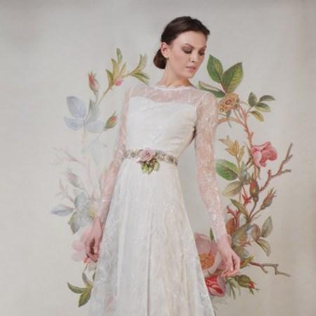 Claire Pettibone Spring 2014 wedding dresses