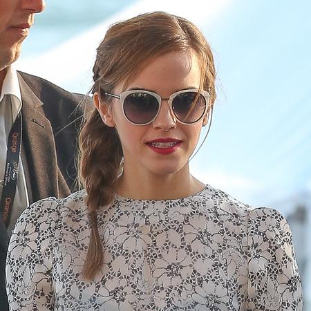 Emma Watson's loose plait