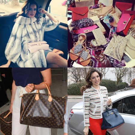 Kelly Brook handbag collection
