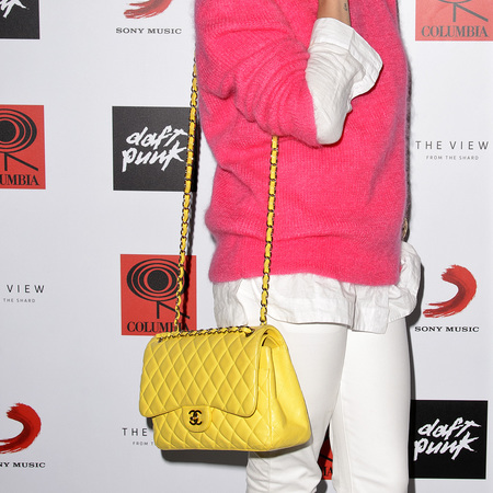 Yellow Chanel Flap Bag