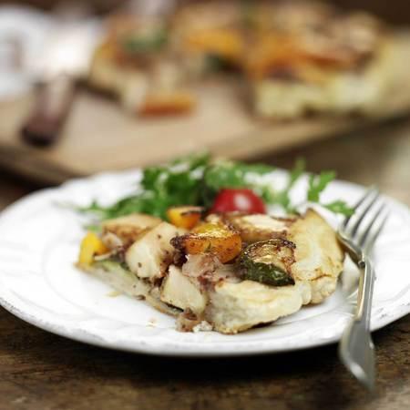 Vegetarian tart