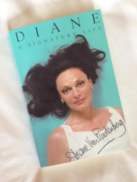 Diane Von Furstenberg and Victoria Beckham book