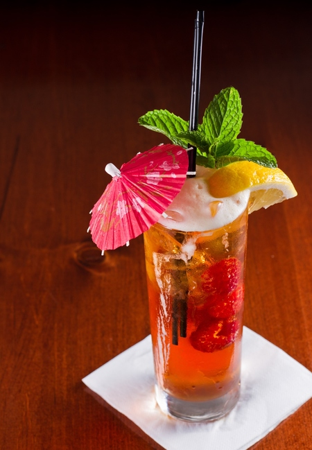 Eurovision Iced Tea cocktail