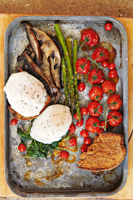 Honestly Healthy full English breakfast recipe