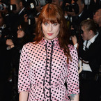 CANNES: Florence Welch in pink Miu Miu polka dots at Great Gatsby
