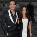 Thom Evans and Jessica Lowndes do matchy outfits