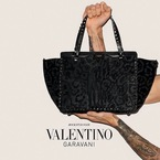 Terry Richardson spices up Valentino handbag ad