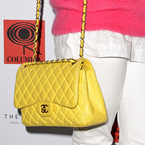 CELEBRITY BAGS: Rita Ora's yellow Chanel bag