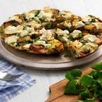 Dinner sorted: Watercress & Goat's Cheese Frittata