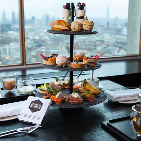 Afternoon tea with a twist in London