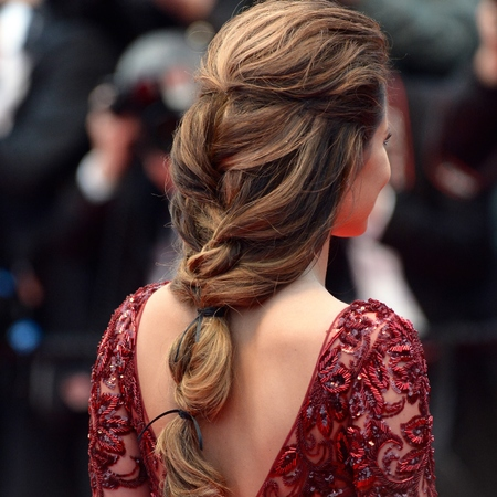 Cheryl Cole Cannes hairstyle