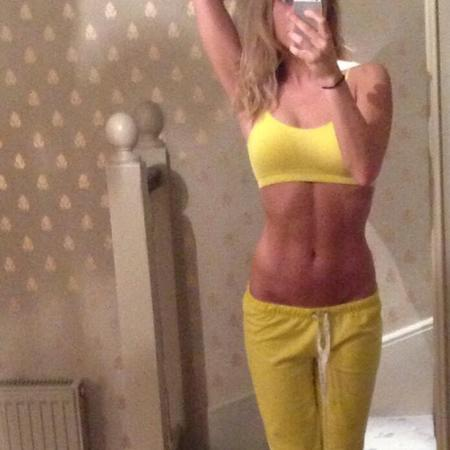 Chloe Madeley – put your stomach away...