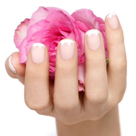 French Tulip nails