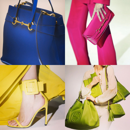 Gucci guide to Summer 2013 handbag colour trends