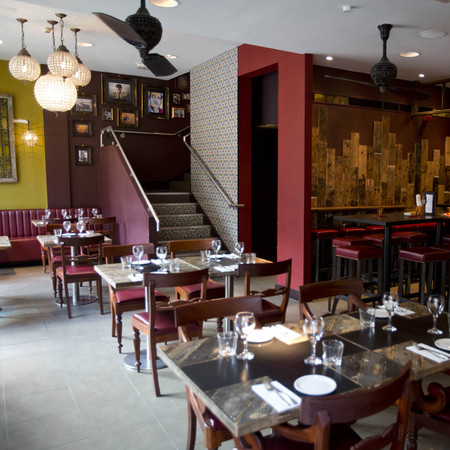 Salvador and Amanda restaurant, London