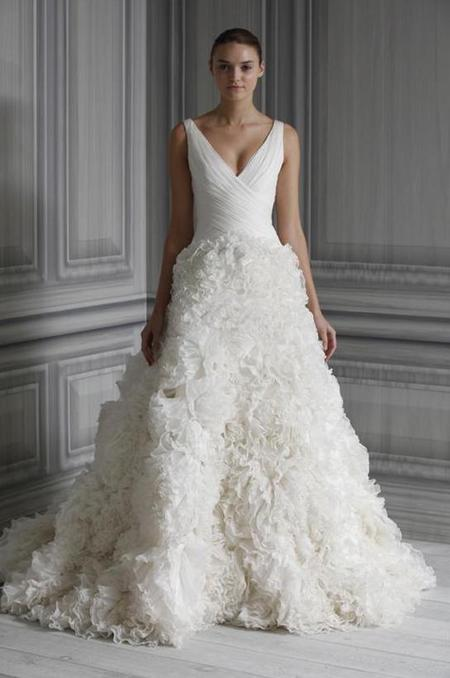 Jessica Ennis' Monique Lhuillier Wedding Dress