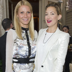 Gwyneth Paltrow and Kate Hudson glam up for Goop