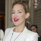 MAKEUP TREND: Kate Hudson's bare face and bold lips