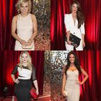 RED CARPET: Celebrity bags at British Soap Awards