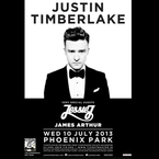 Jessie J & James Arthur for Justin Timberlake gig