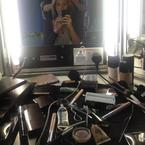 Lydia Bright reveals backstage makeup kit