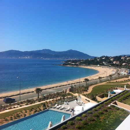 Corsica bedroom view