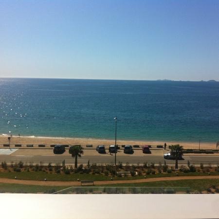Corsica hotel beach view
