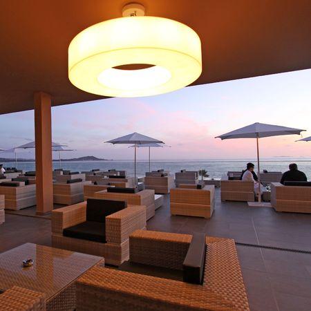 Corsica hotel view