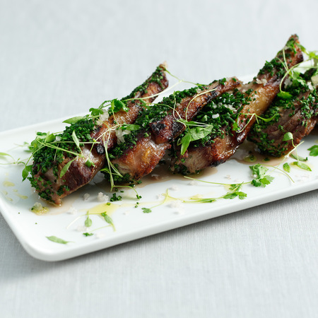 Lamb chops recipe by Marco Pierre White
